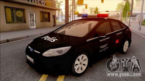Ford Focus Special Operations Civilian Vehicles for GTA San Andreas