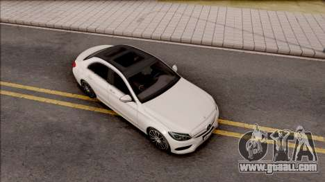 Mercedes-Benz C250 AMG Line v1 for GTA San Andreas right view