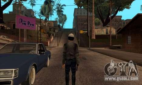Beta Skin SFPDM for GTA San Andreas second screenshot