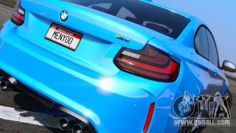 GTA 5 BMW M2 2016 left side view
