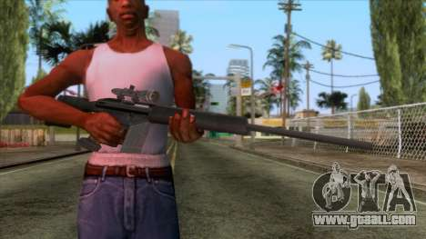 PSG1 Sniper Rifle for GTA San Andreas third screenshot