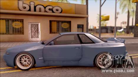 Nissan Skyline R32 Pandem Kit for GTA San Andreas left view