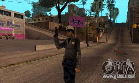 Beta Skin SFPDM for GTA San Andreas