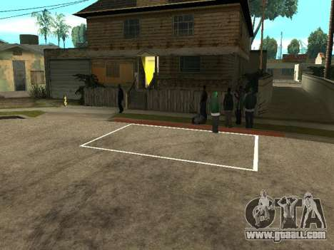 Parking Save Garages for GTA San Andreas second screenshot