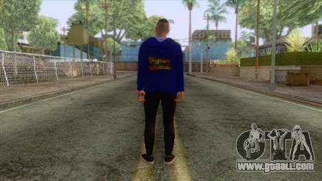 Chris Redfield Casual for GTA San Andreas third screenshot