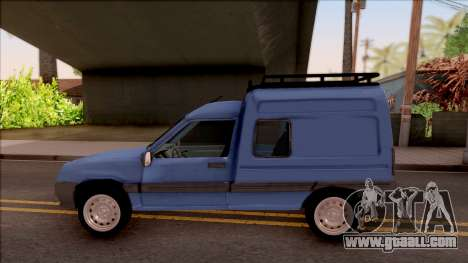 Renault Express for GTA San Andreas left view