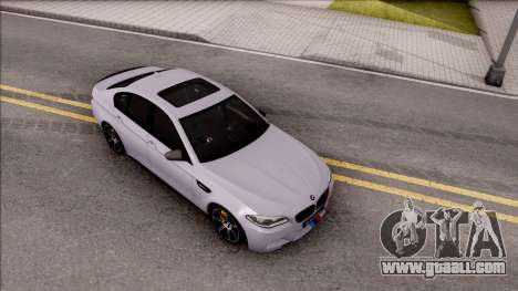 BMW M5 F10 M Performance for GTA San Andreas right view