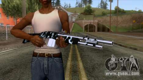 De Armas Cebras - Shotgun for GTA San Andreas third screenshot