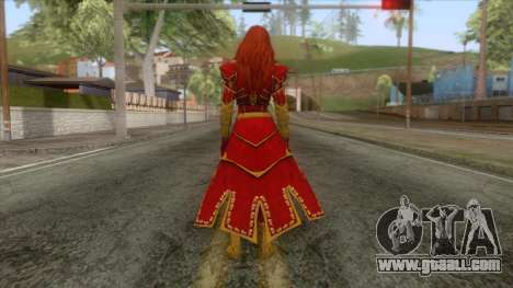 Marvel Heroes - Phoenix (Horseman) for GTA San Andreas third screenshot
