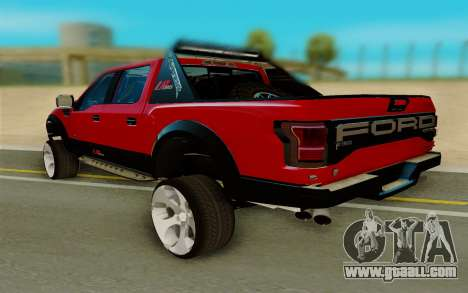 Ford F150 Raptor for GTA San Andreas right view