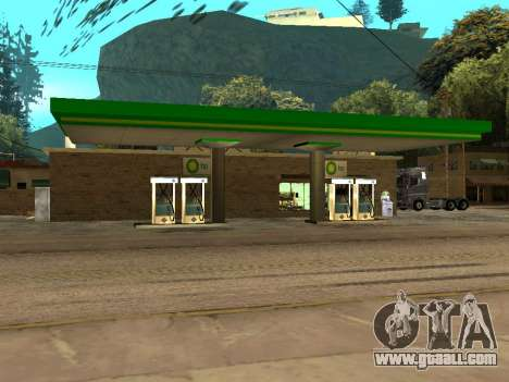BP Gas Station for GTA San Andreas second screenshot