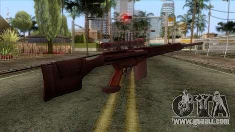 PSG1 Sniper Rifle for GTA San Andreas second screenshot