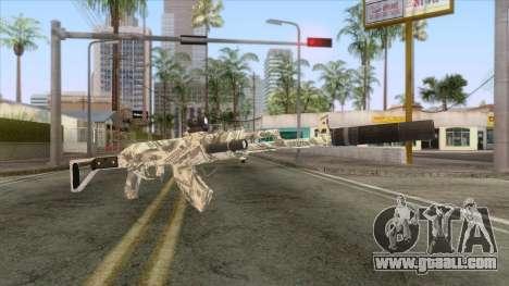 CoD: Black Ops II - AK-47 Benjamin Skin v2 for GTA San Andreas