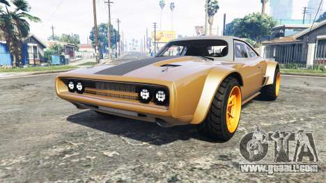 Dodge Charger Fast & Furious 8 [add-on] for GTA 5