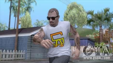 Outfit Gangsta - Skin Random v21 for GTA San Andreas