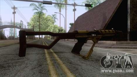 Evolve - Submachine Gun for GTA San Andreas second screenshot