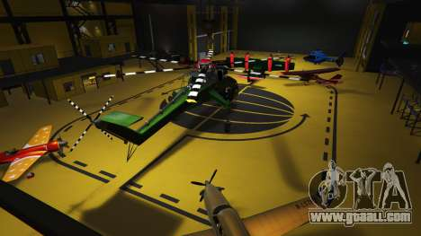 GTA 5 Hangars in SP 1.1