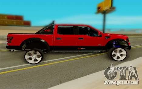 Ford F150 Raptor for GTA San Andreas left view