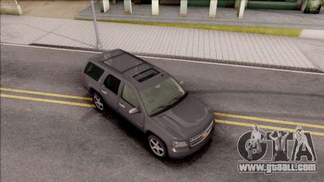 Chevrolet Tahoe LTZ 2008 IVF for GTA San Andreas right view