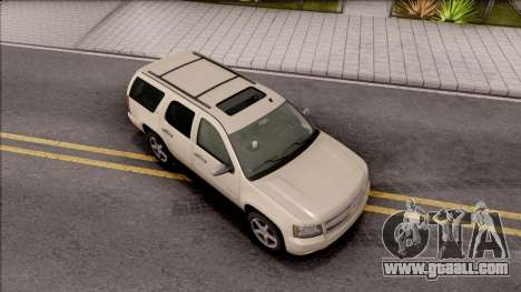 Chevrolet Tahoe LTZ 2008 for GTA San Andreas right view