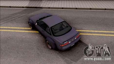 Nissan 200SX Rocket Bunny v4 for GTA San Andreas back view