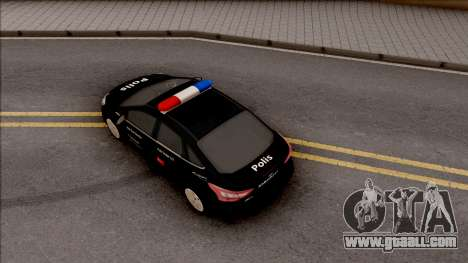 Ford Focus Special Operations Civilian Vehicles for GTA San Andreas back view