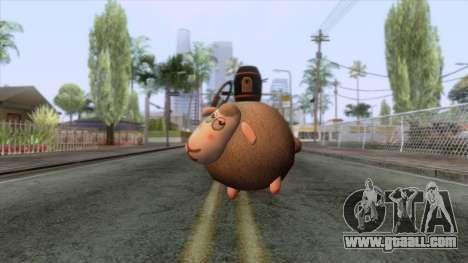 Sheep Grenade for GTA San Andreas