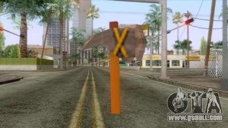New Super Mario Bros Hammer for GTA San Andreas