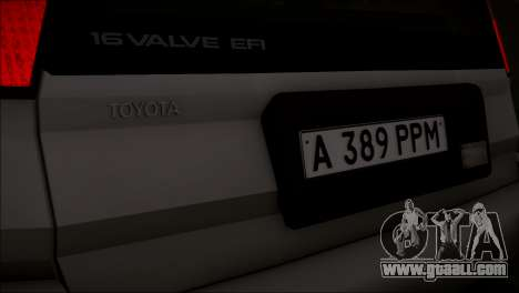 Toyota Corolla Tercel AE95 v1.0 for GTA San Andreas
