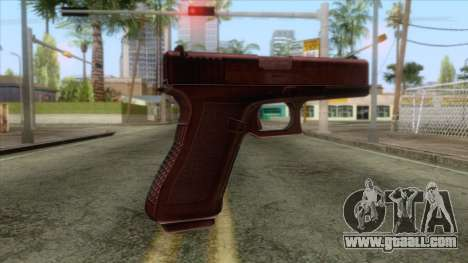 Glock 17 Original for GTA San Andreas second screenshot