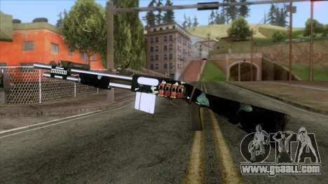 De Armas Cebras - Shotgun for GTA San Andreas second screenshot