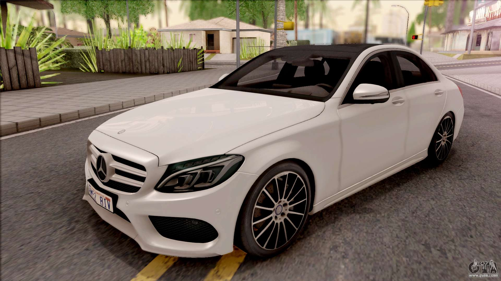 mercedes benz c250 amg line v1 for gta san andreas. Black Bedroom Furniture Sets. Home Design Ideas