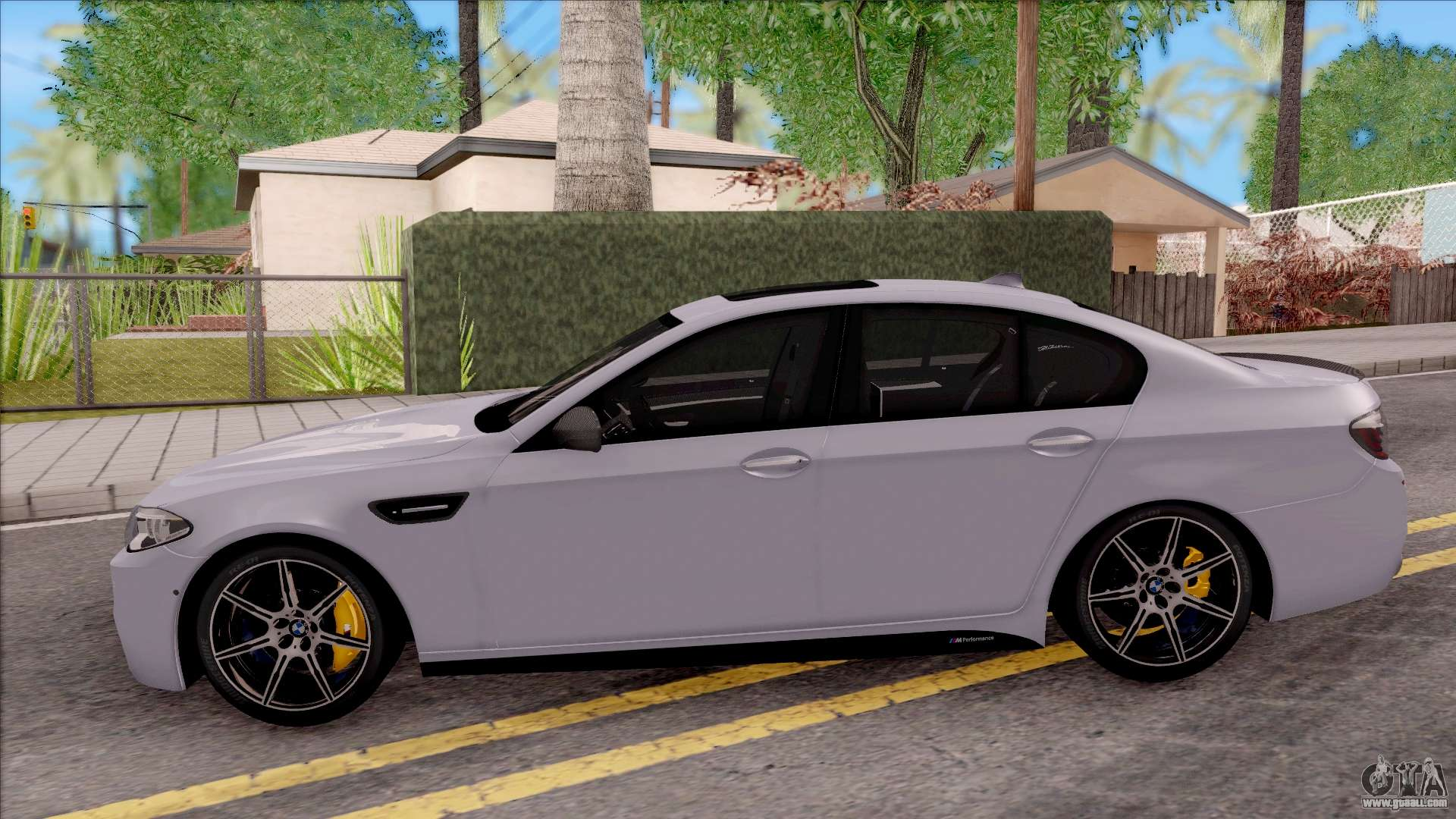 bmw m5 f10 m performance for gta san andreas. Black Bedroom Furniture Sets. Home Design Ideas