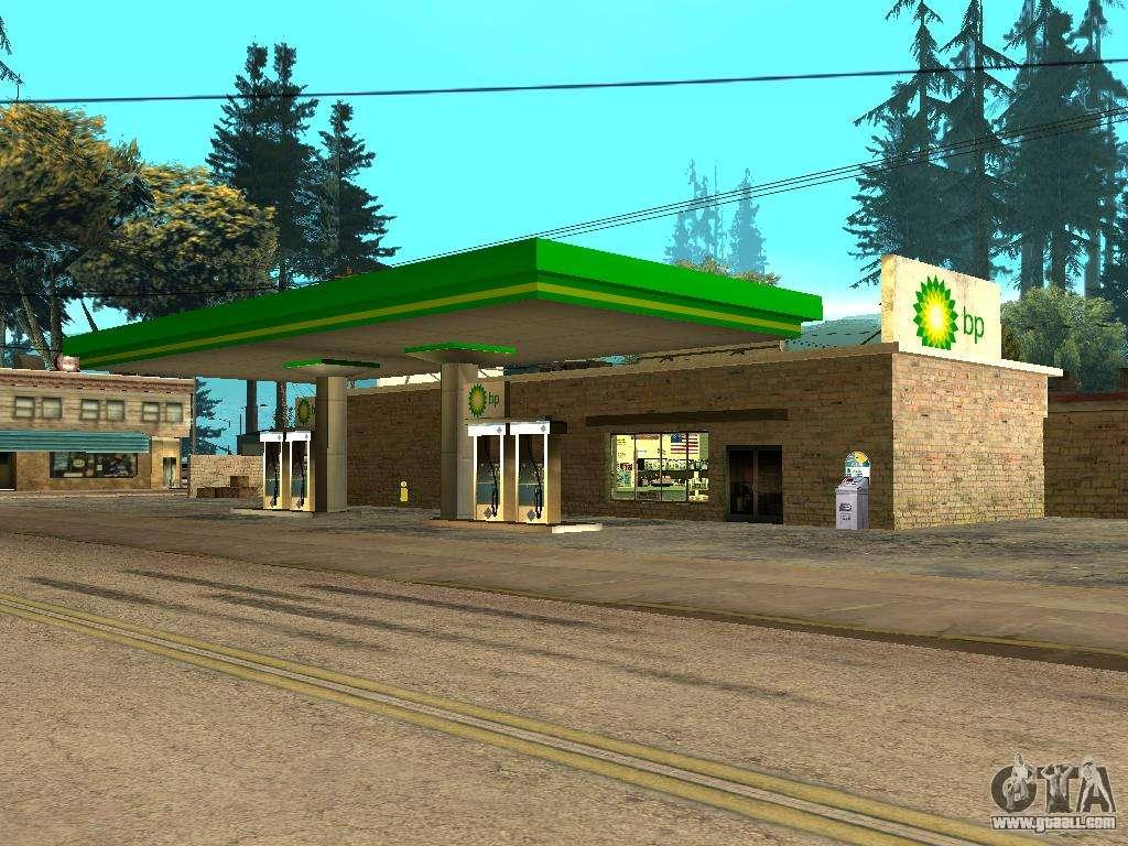 BP Gas Station for GTA San Andreas