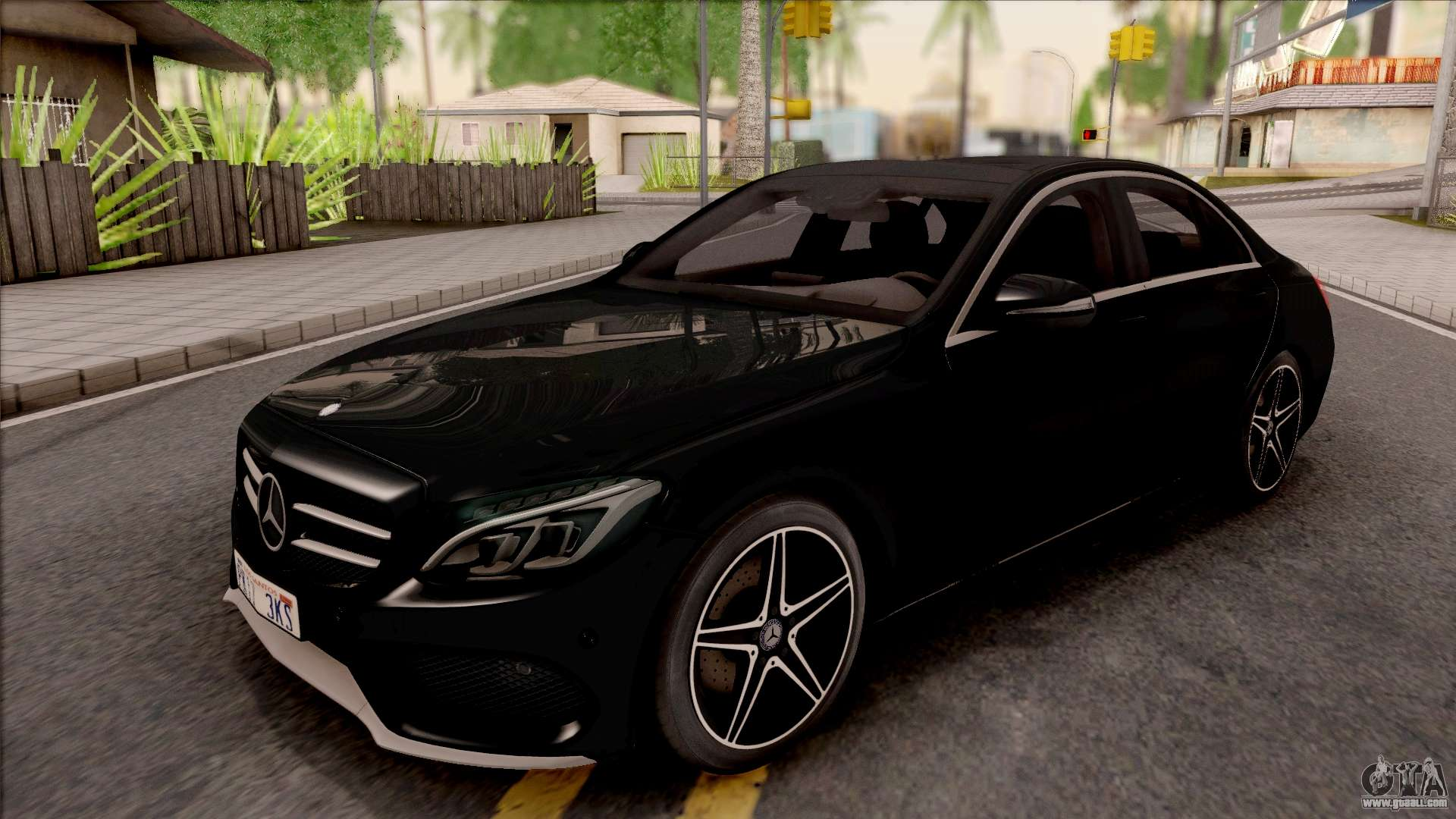 Mercedes benz c250 amg line v2 for gta san andreas for Mercedes benz c250 amg