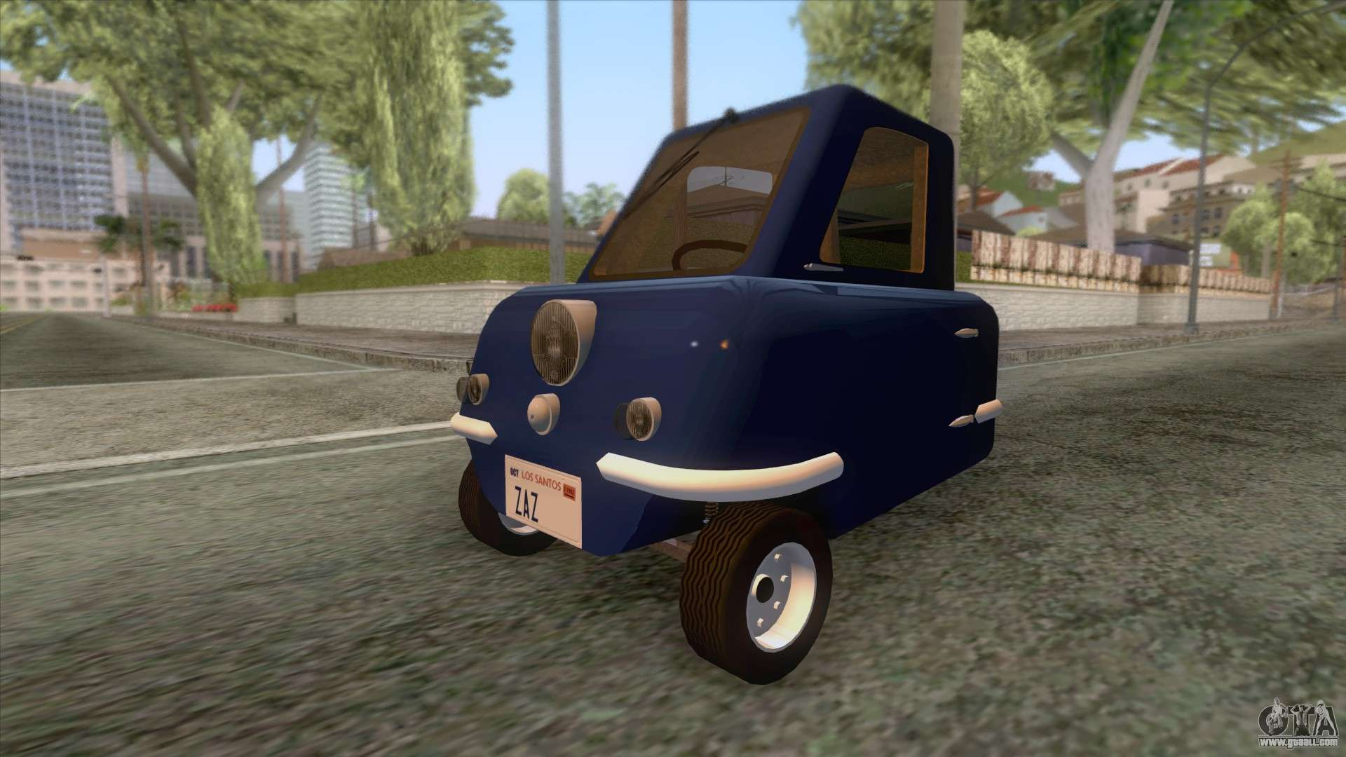 peel p50 2011 for gta san andreas. Black Bedroom Furniture Sets. Home Design Ideas