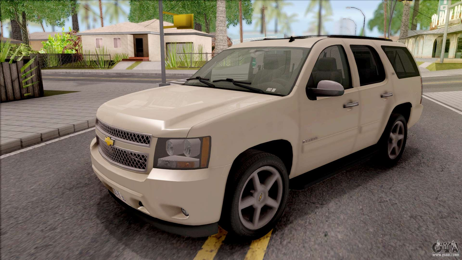 chevrolet tahoe ltz 2008 for gta san andreas. Black Bedroom Furniture Sets. Home Design Ideas