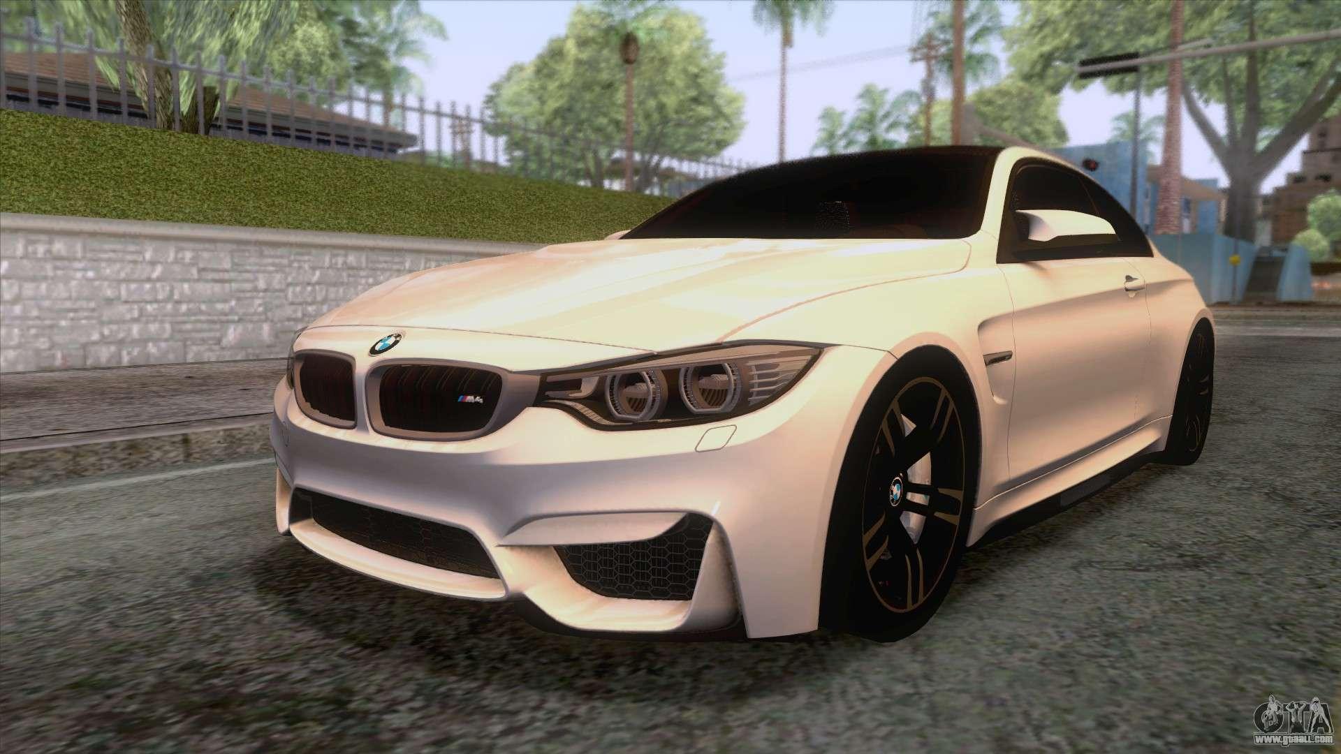 Bmw M4 Gts High Quality For Gta San Andreas