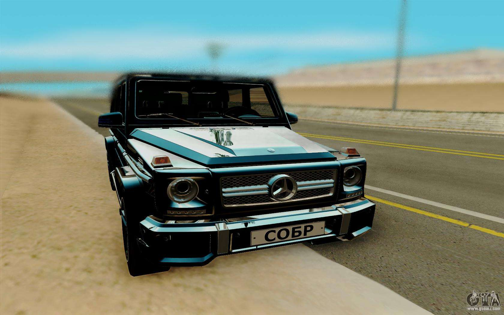 Mercedes benz g65 amg for gta san andreas for Mercedes benz games