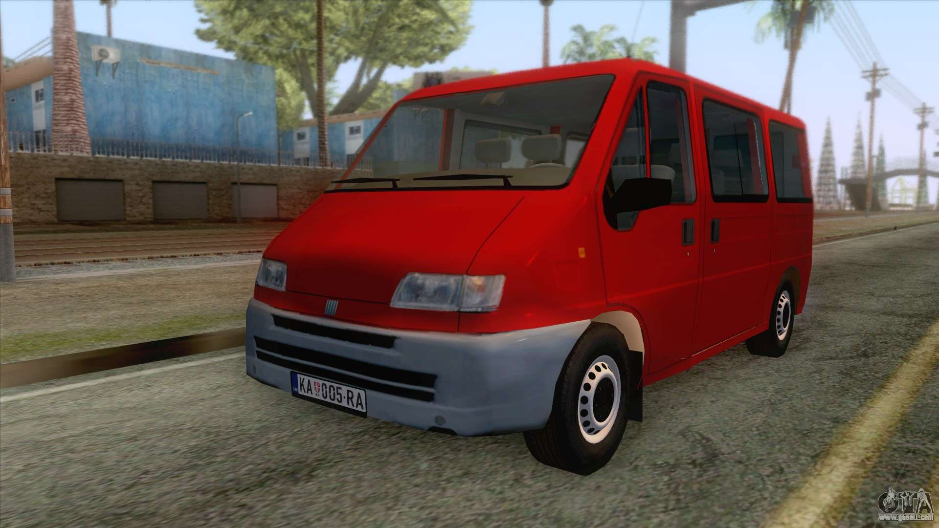 fiat ducato mk2 1999 for gta san andreas. Black Bedroom Furniture Sets. Home Design Ideas