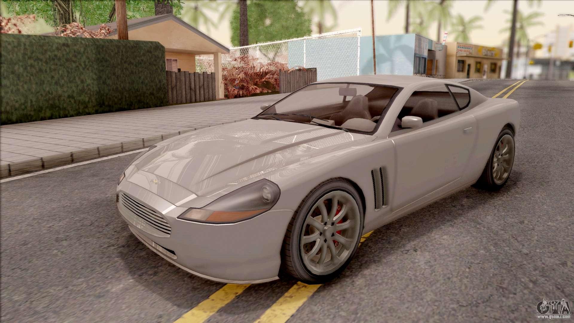 GTA IV Dewbauchee Super GT for GTA San Andreas