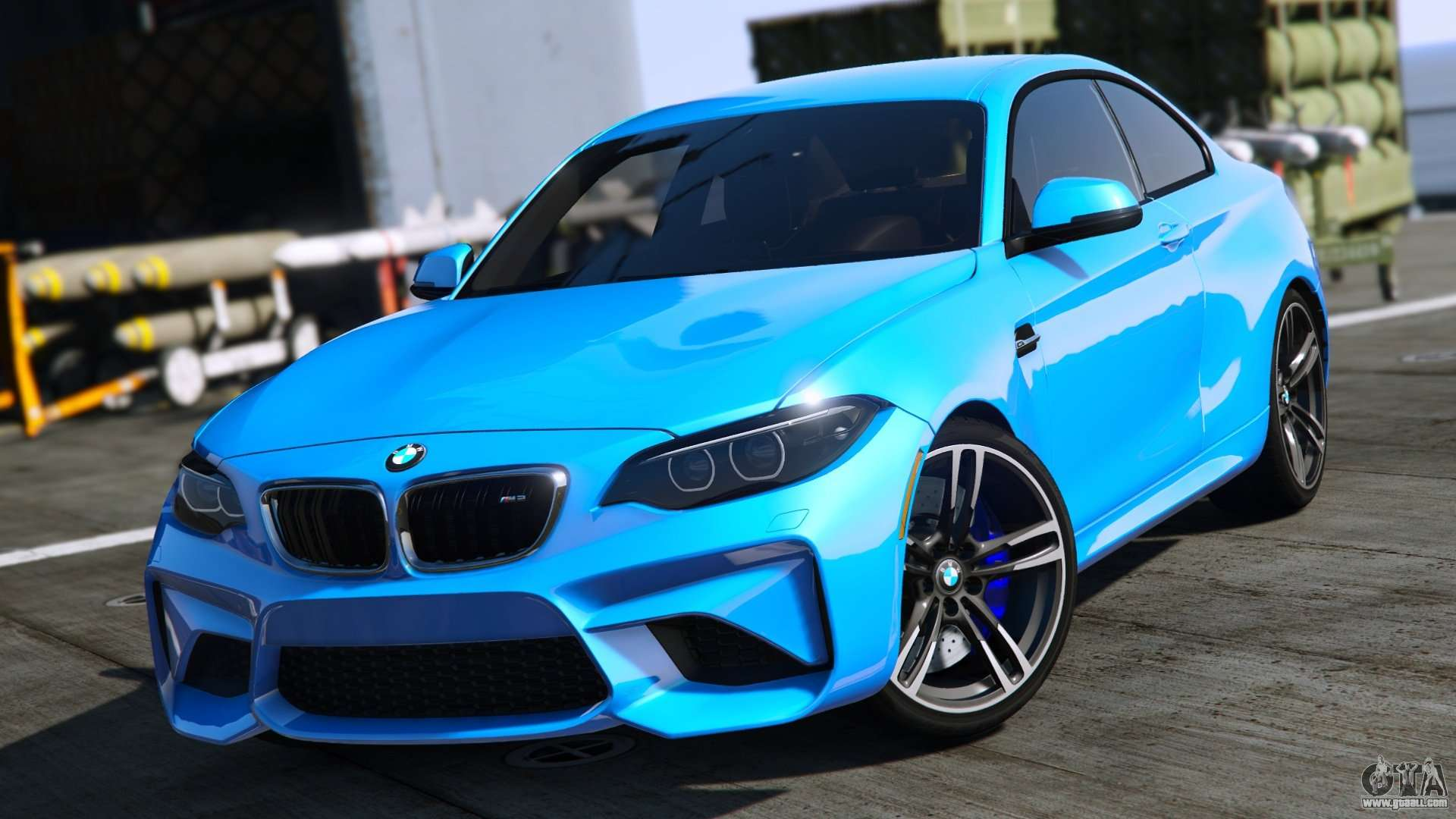 Bmw M2 2016 For Gta 5