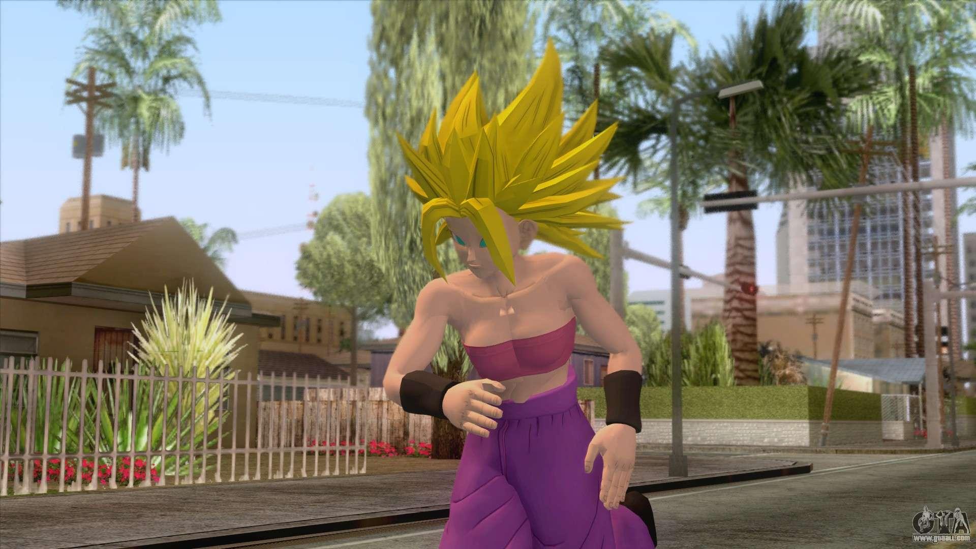 Goku in gta san andreas download