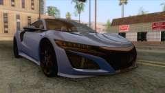 Acura NSX 2016 IVF for GTA San Andreas