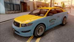 GTA V Vapid Unnamed Taxi for GTA San Andreas