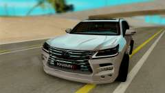 Lexus Lx570 KHAN III for GTA San Andreas
