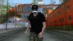 Skin De Sicario for GTA San Andreas