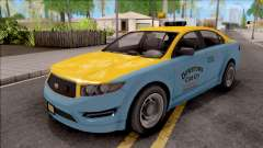 GTA V Vapid Unnamed Taxi IVF for GTA San Andreas