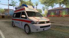 Volkswagen T5 Serbian Ambulance for GTA San Andreas