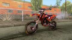 KTM SXF 350 Redbull for GTA San Andreas